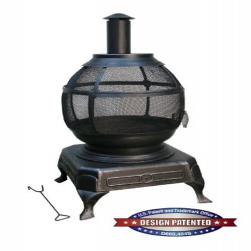 Potbelly Outdoor Fireplace