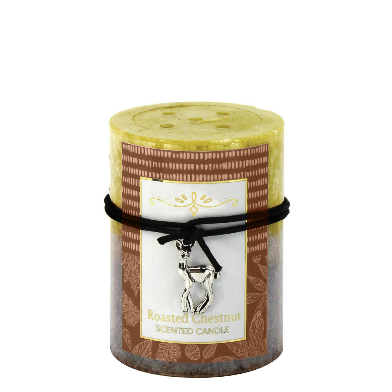 Roasted Chestnut Scented Candle 3X4
