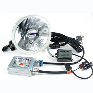 "1159 Series 7"" Headlight Hi/Lo with City Lights"