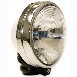 550 Series Hi/Lo 60/55W Light Kit - Chrome (Steel Housing)