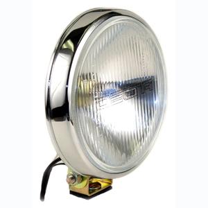 100 Series Thinline Driving Light Kit - Chrome (Steel Housing w/ White Cover)