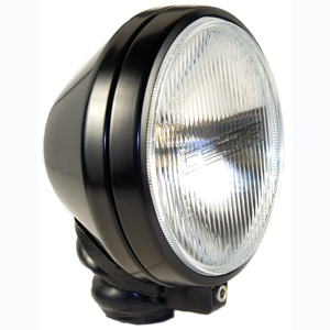 "500 Series Long Range ""Racing"" Light Kit - Black (Steel Housing with White Cover)"