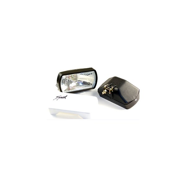 "HOT SHOT Driving Light Kit w/ Lexan ""unbreakable"" lens"