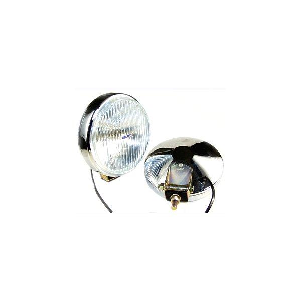 100 Series Thinline Fog Light Kit - Chrome w/ Covers