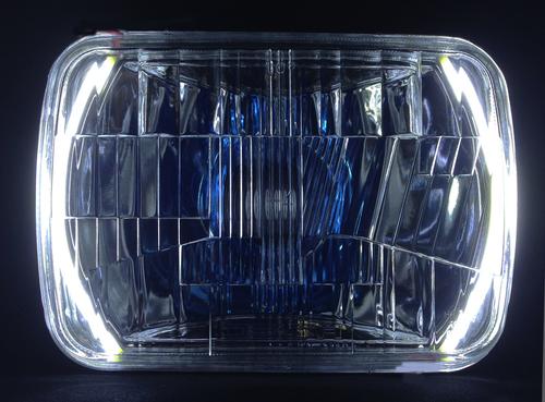 200mm H.I.D. Headlight Kit w/Halos