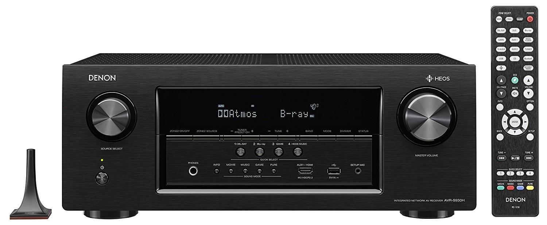 Denon 7.2 CH HEOS Dolby Atmos Receiver