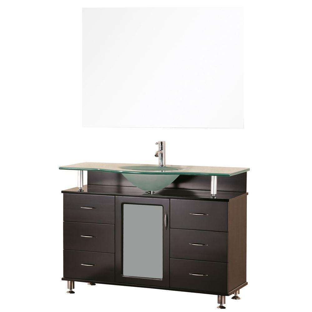 """Bathroom Sink Vanity Set, 48"""" Single Drop-In Sink, Huntington"""