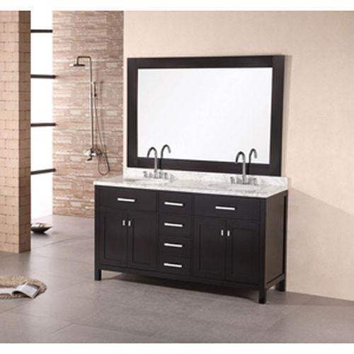 """Bathroom Sink Vanity, 36"""" Single Drop-In Sink, Stanton"""