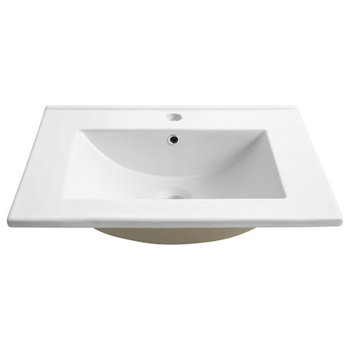 "36"" Porcelain Countertop with Integrated Drop In Sink"