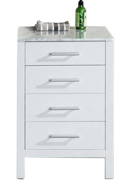 "London 20"" Cabinet in White"