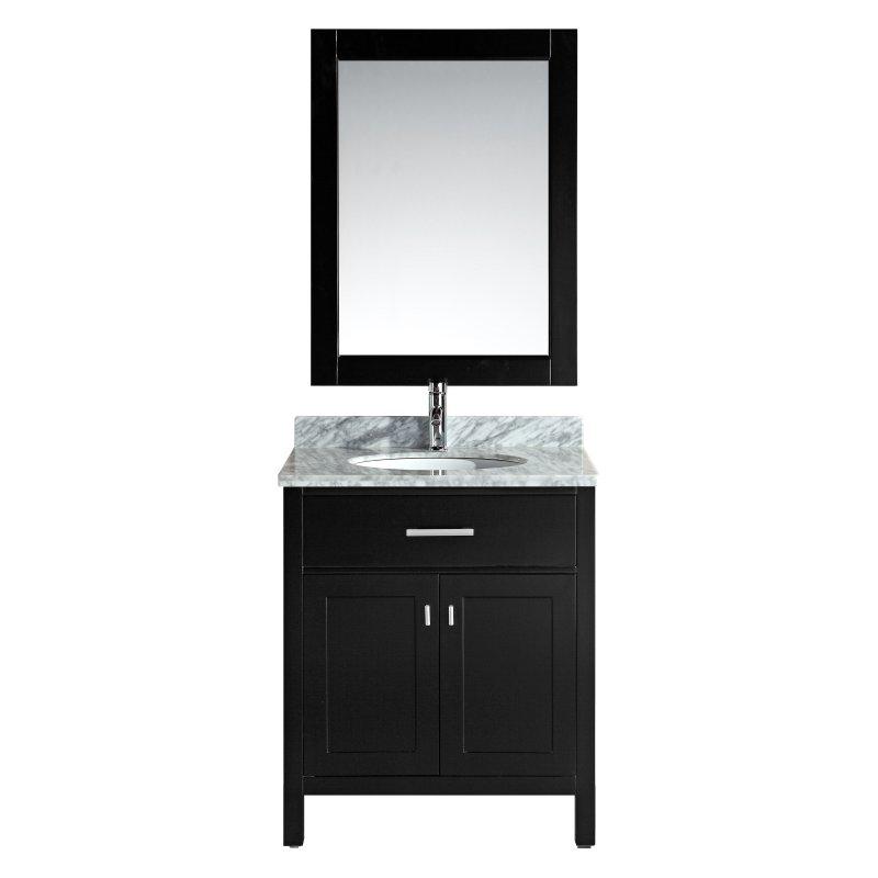 "London 30"" Single Sink Vanity Set in Espresso"