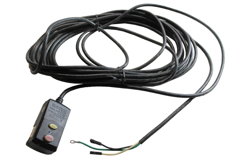 Cord-GFI-25 25' Cord with GFI Plug, 14/3 Wire 15 amp 120v 3 prong Devilbiss Air Products Generator Parts