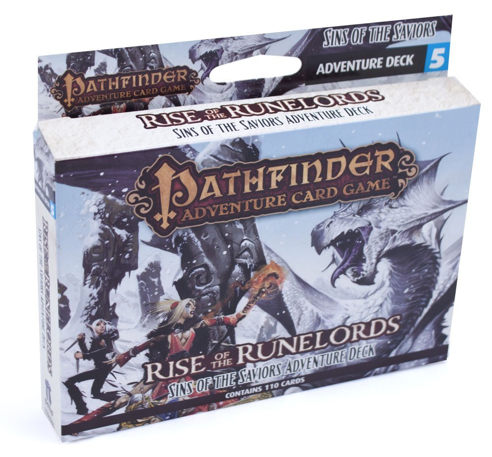 Pathfinder: Rise of the Runelords, Sins of the Saviors Deck5