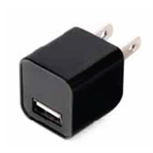 1amp USB Wall Charger Black