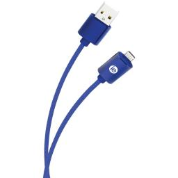 10' Braided Micro USB Cbl Blue