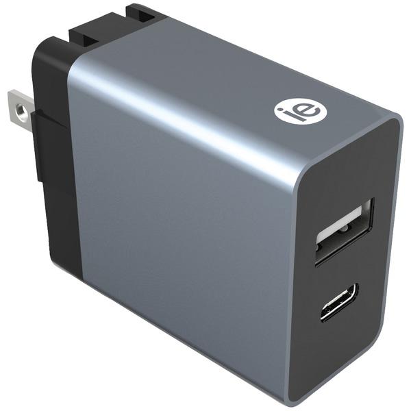 3.4 AMP 1 USB A & 1 USB C WALL