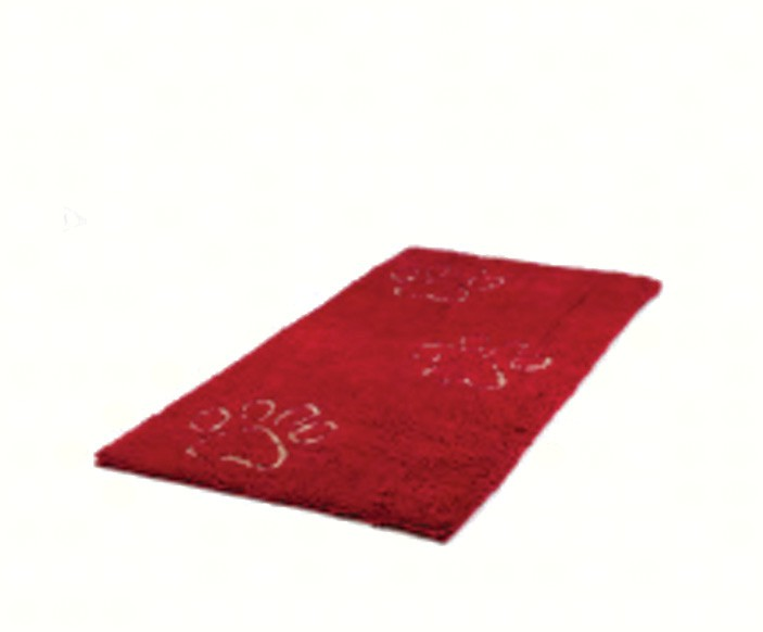 Dirty Dog Doormat Runner Maroon 60x30