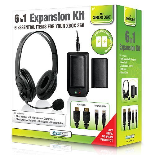XBox 360 Bundle 6 in 1 Expansion Kit BK