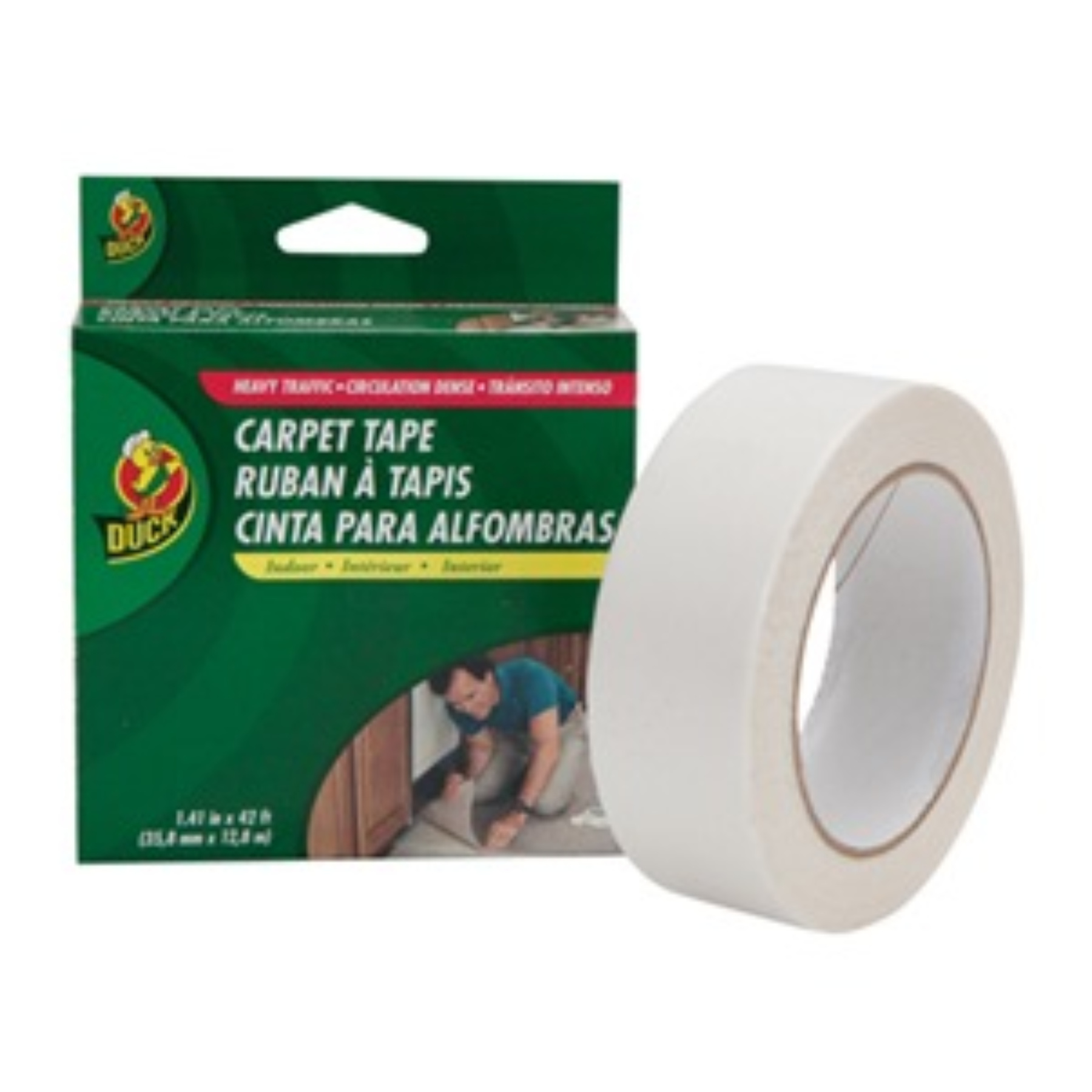 1.5X42 WH CLTH TAPE 07192