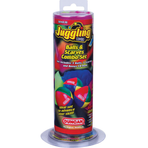 Juggling Balls and Scarves Combo Set