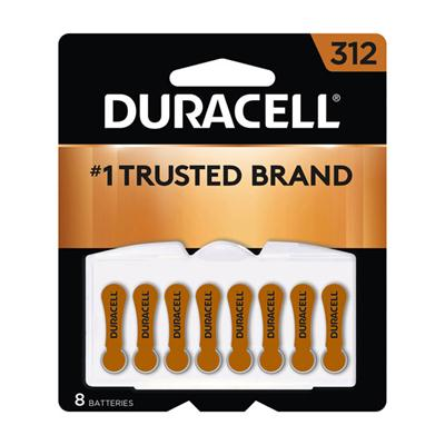 312 Hearing Aid 8 pack