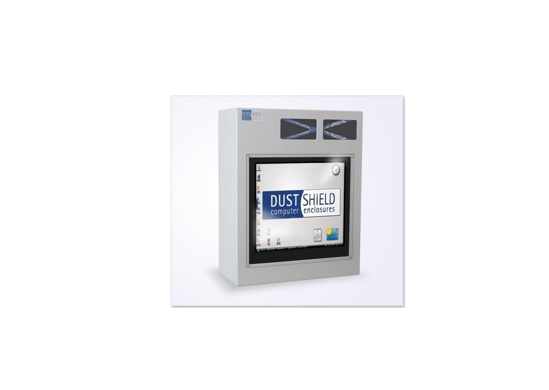 """Dustshield DS802F Enclosure Case For 19"""" LCD Monitor Light Gray"""