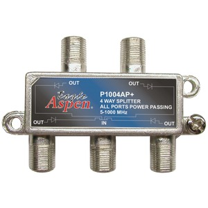 EAGLE ASPEN 500304 1,000MHz Splitter (4 Way)