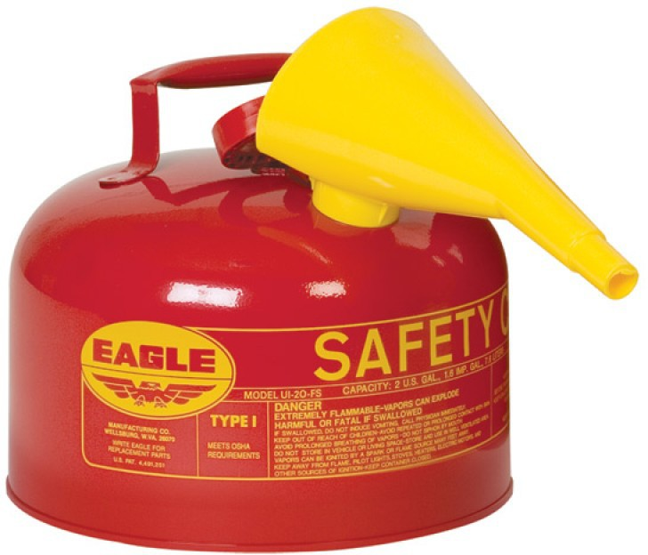 1-GALLON SAFETY GAS CAN