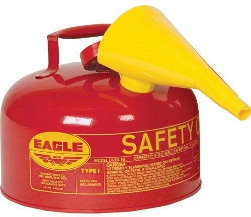 2-GALLON SAFETY GAS CAN