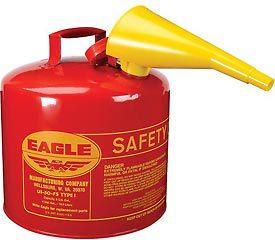 5 GALLON SAFETY GAS CAN