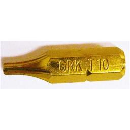 #10X2 INCHES YELLOW STAR SCREW BIT