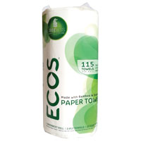 PAPER TOWEL 2PLY 115SHEET ROLL