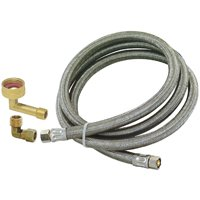 Eastman 41045 Braided Universal Dishwasher Hose, For Use With All Models of Dishwashers
