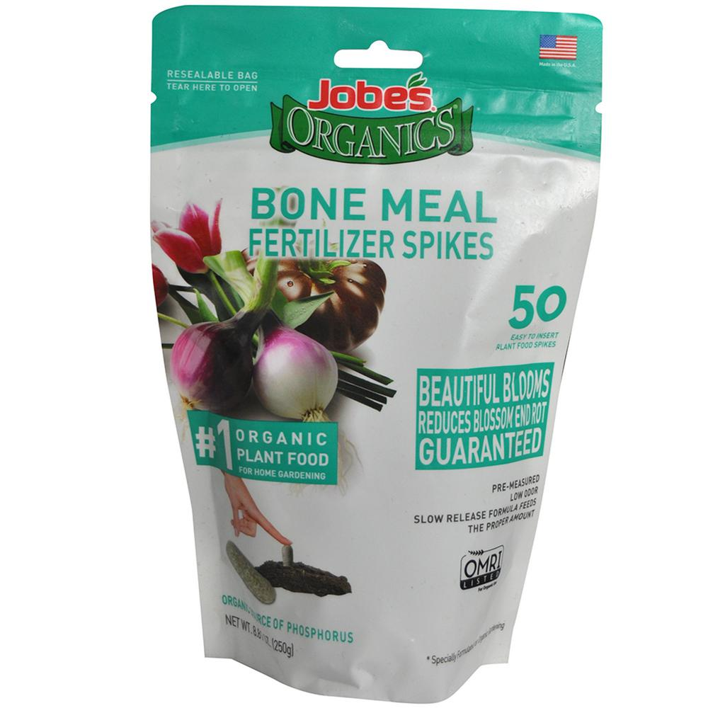 06328 50CT ORG BONE MEAL SPIKE