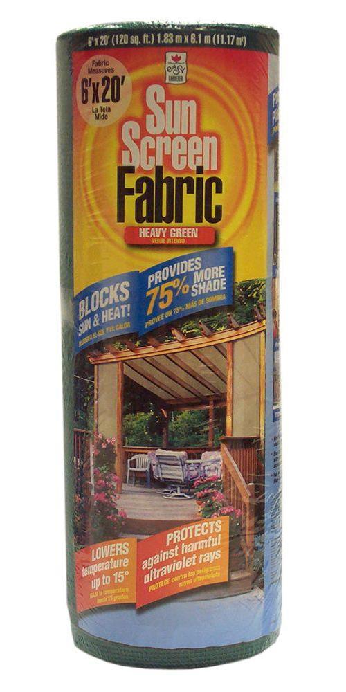 74025 Heavy Green Shade Fabric