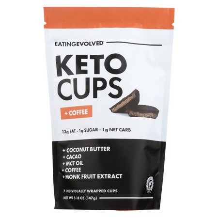 Keto Cups - Coffee Keto Pouch ( 6 - 5.25 OZ )