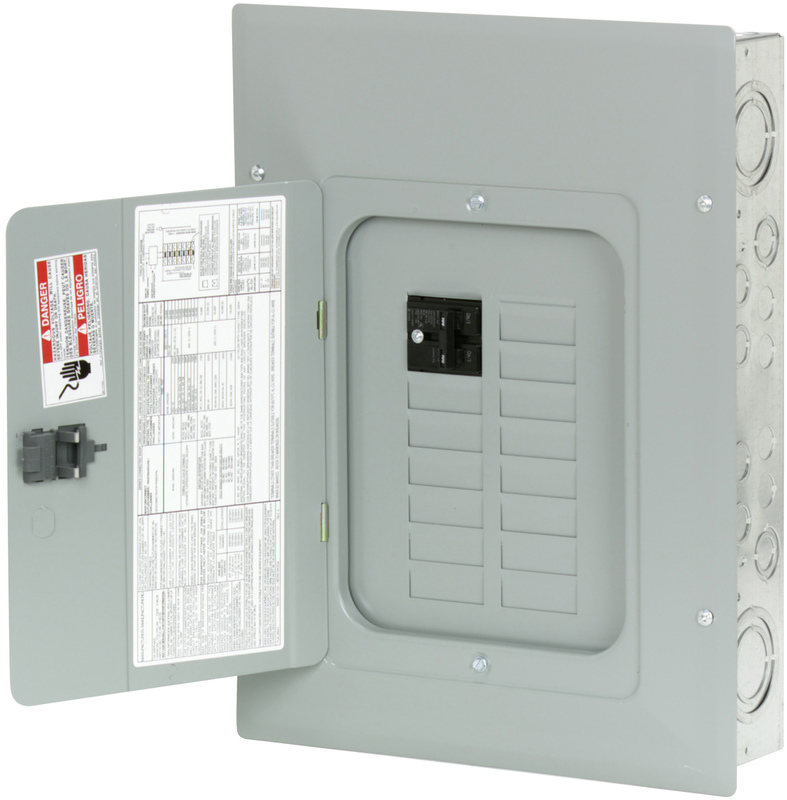 100 AMPERE 12 SPACE PANEL