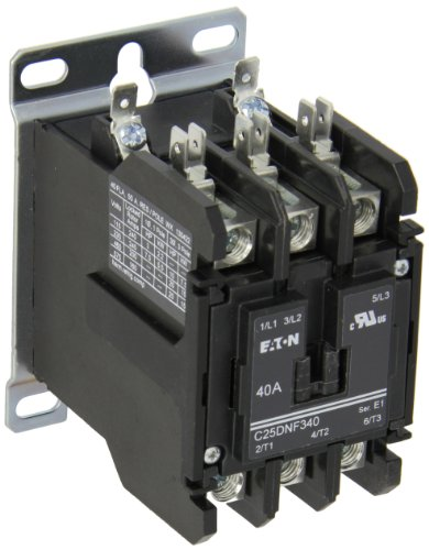 DEFINITE PURPOSE CONTACTOR RBM TYPE 154 3 POLE 40A 120V