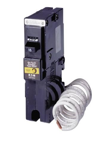 BR SERIES 1 POLE ARC FAULT BREAKER 15 AMPS