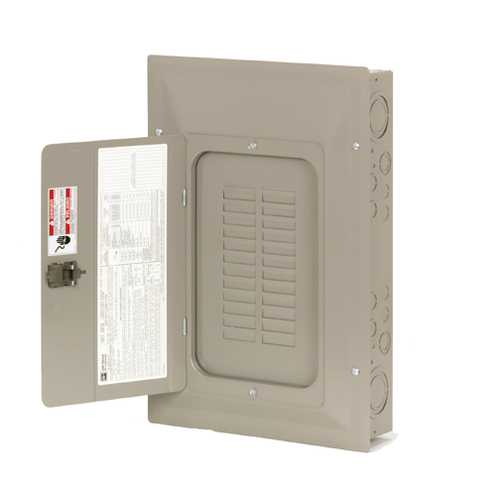CH SERIES INDOOR MAIN LUG ONLY LOADCENTER 125A 24 CIRCUITS