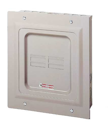 CH SERIES OUTDOOR MAIN LUG ONLY LOADCENTER 125 AMPS 4 TO 8