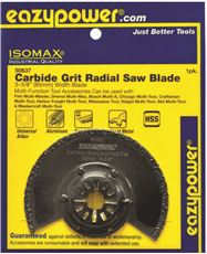 EAZYPOWER� OSCILLATING CARBIDE GRIT RADIAL SAW BLADE, 3-3/8 IN.