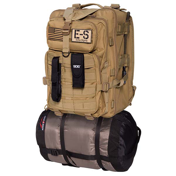Emergency Bug Out Bag, Coyote