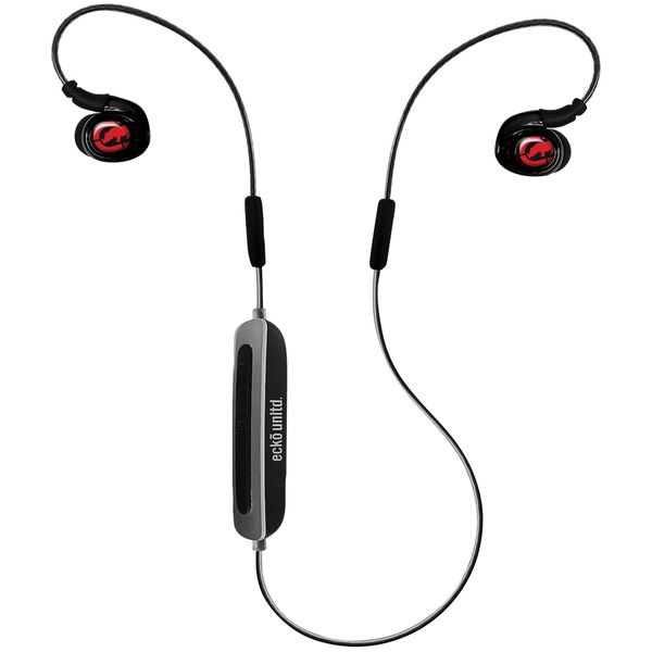 Ecko Unltd. EKU-JLT-BK Jolt Bluetooth Earbuds with Microphone (Black)