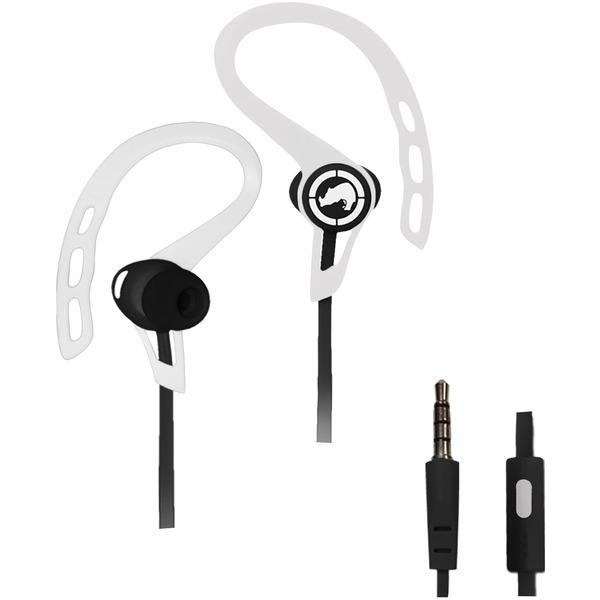 Ecko Unltd. EKU-RSH-WHT Rush Sport Earbuds with Microphone (White)
