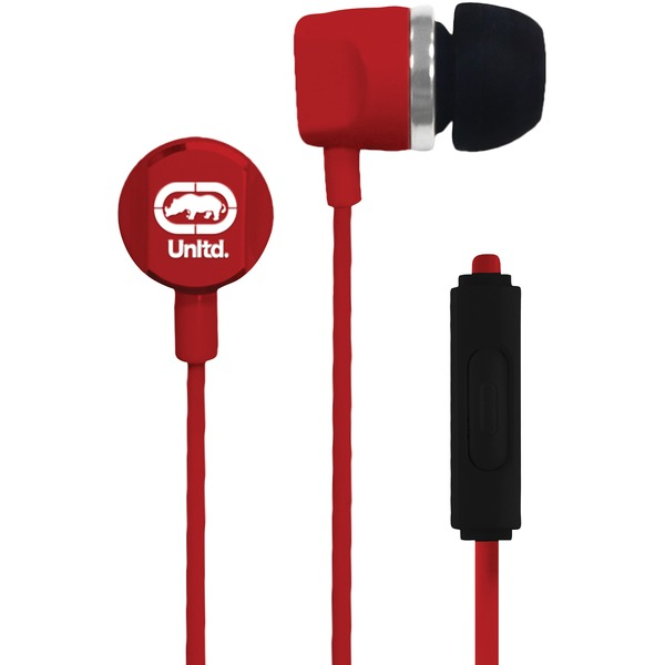 Ecko Unltd. EKU-RYC-RD Royce Earbuds with Microphone (Red)