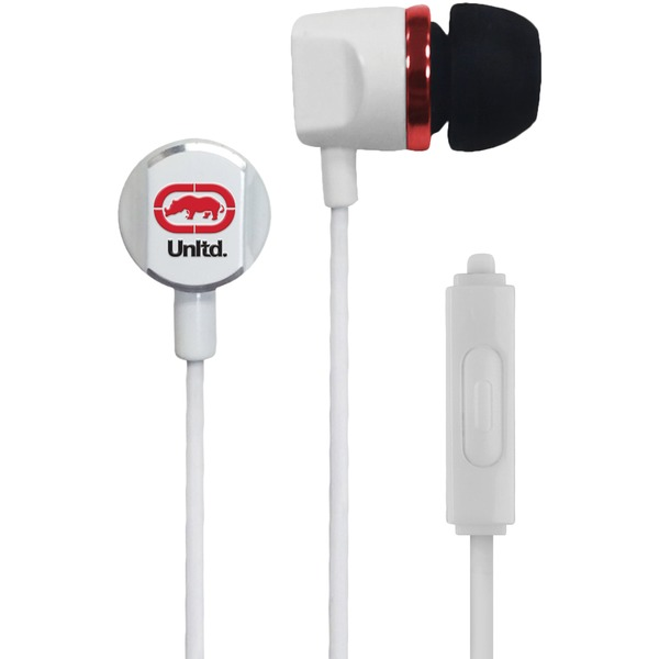 Ecko Unltd. EKU-RYC-WHT Royce Earbuds with Microphone (White)