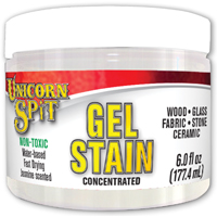 GEL STAIN&GLAZE WHITE NING 6OZ