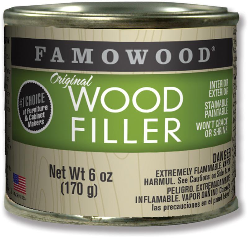 1/4 Pint Mahogany Solid Wood Filler
