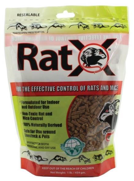 BAIT RAT/MOUSE NON-TOXIC 1LB